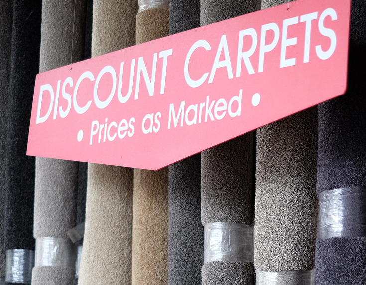 End-of-line Carpets